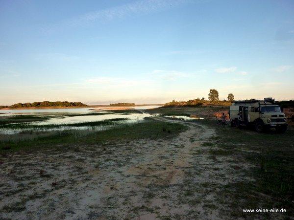 Am Barragem de Odivelas, Alentejo, Portugal