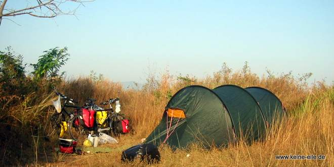 Packliste Backpacker Radreisen: Outdoor und Camping