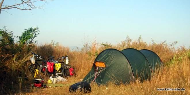 Packliste Backpacker Radreisen: Outdoor und Camping