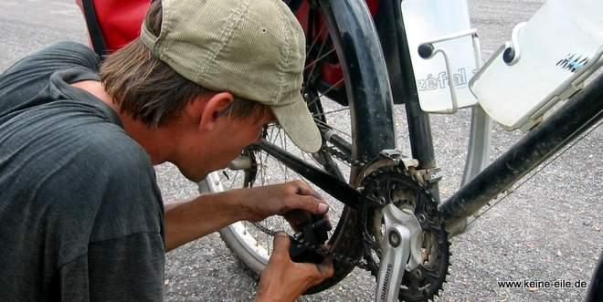 Packliste Backpacker Radreisen: Fahrradzubehör