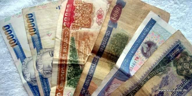 Packliste Backpacker Radreisen: Papiere & Geld