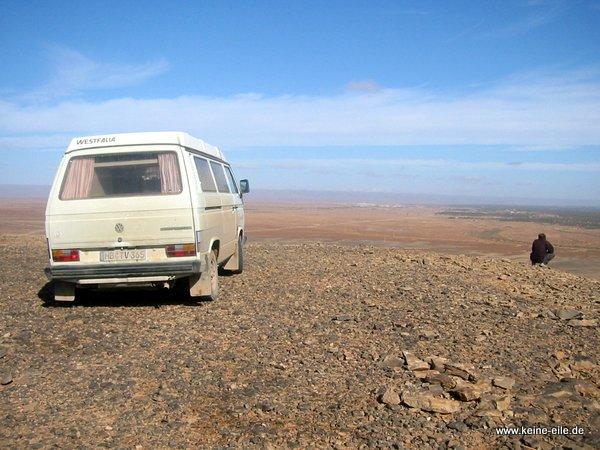 Liebster Award VW Bus in der Wüste