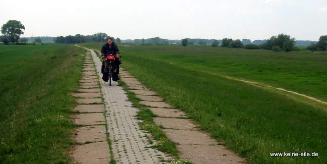 Reiseplanung: Test-Radreise