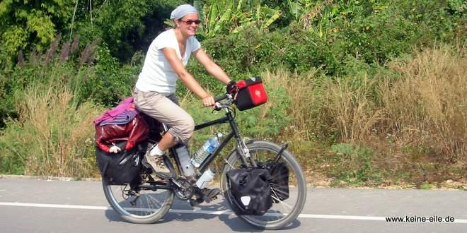 Test-Radreise: Die Vorteile beim Reisen mit dem Fahrrad