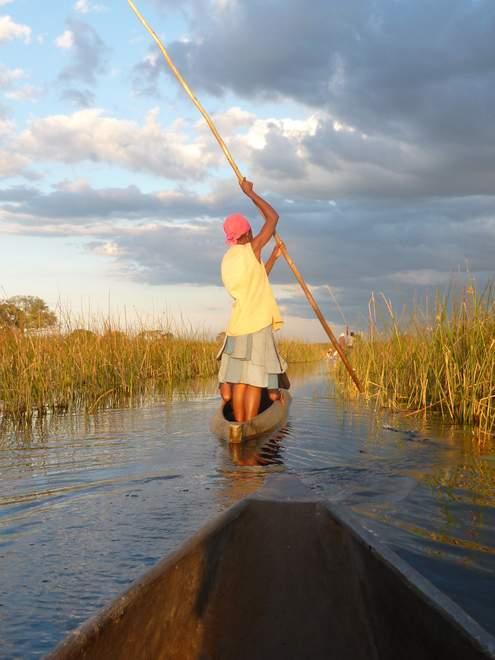 Beatrice Sonntag: Okavango Delta, Botswana