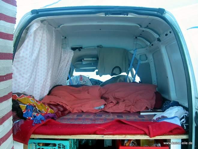 Reiseplanung: Der VW Caddy II als Reisefahrzeug