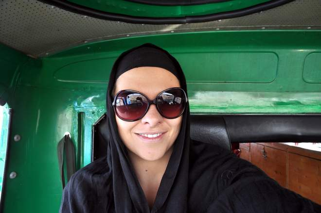 Auf dem Hippie Trail nach Indien: Kopftuchpflicht im Iran