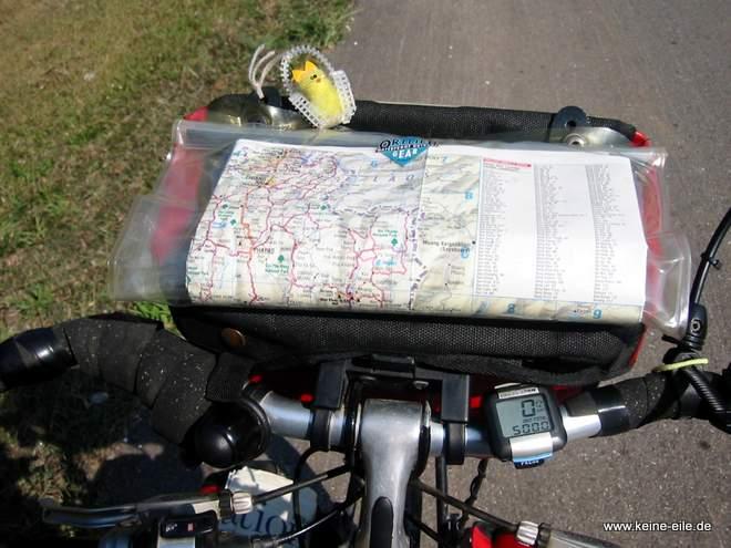 Der Tacho zeigt 5000 km