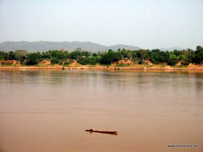 Der Mekong in Chiang Khan