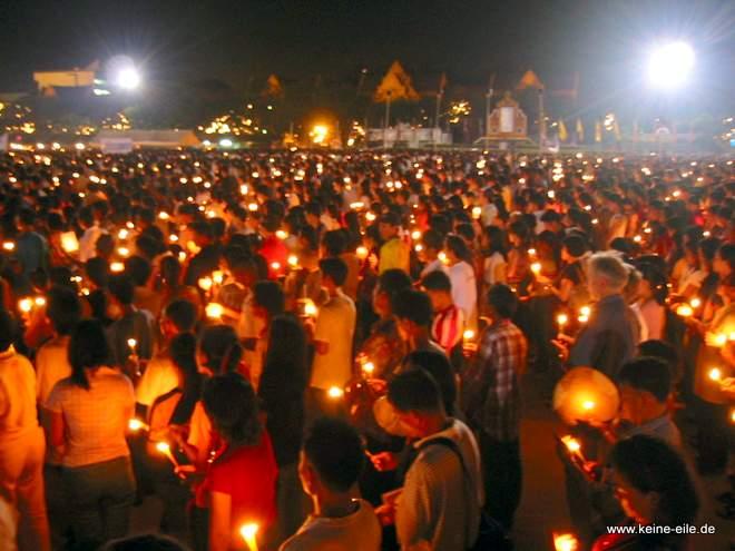 Geburtstagsfeier für König Bhumipol