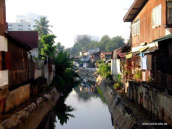 Kanal in Chiang Mai, Thailand