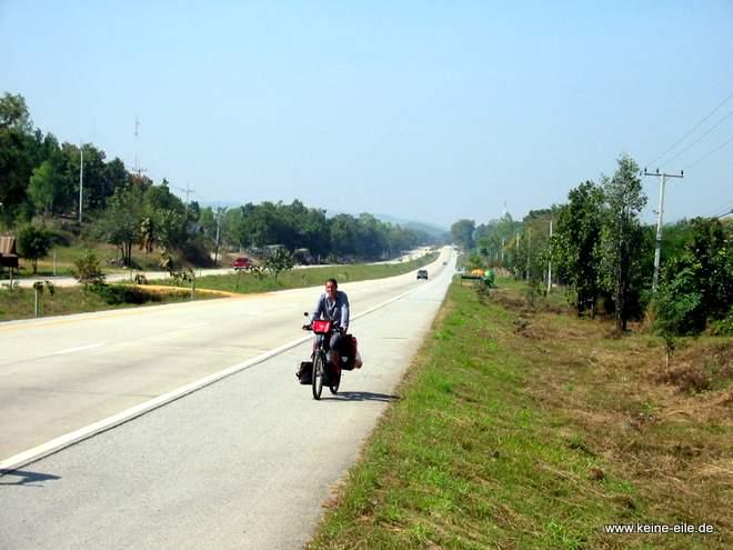 Radfahren in Thailand