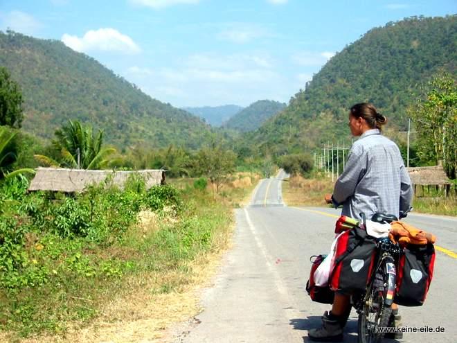 Radtour durch Nordthailand