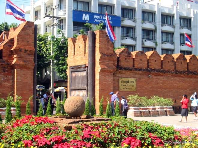 Stadtmauer Chiang Mai, Thailand
