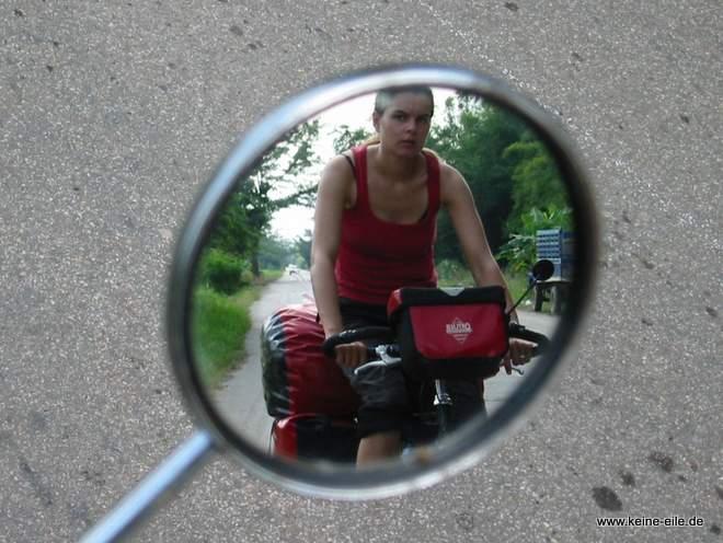 Steffi im Spiegel