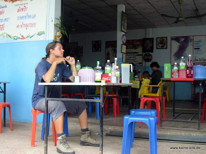Steffi in Bung Khan, Thailand