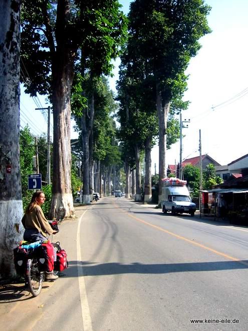 Straße nach Chiang Mai, Thailand