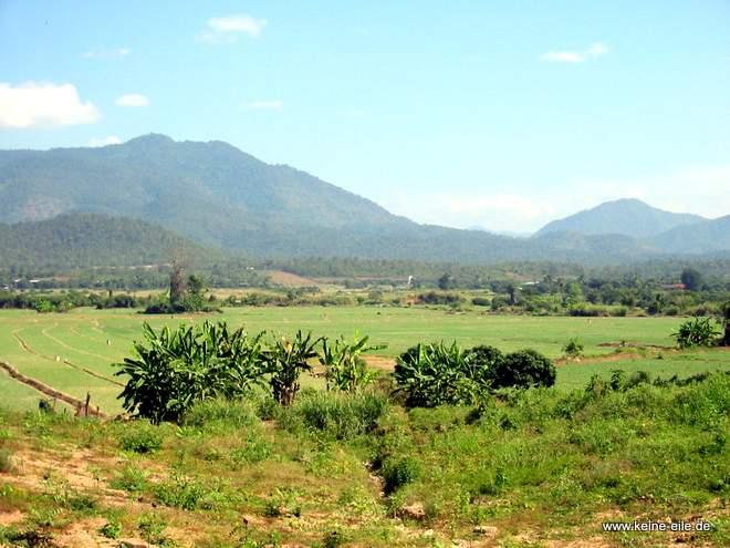 Gebirge bei Chiang Mai, Thailand