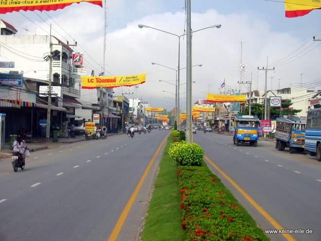 Radrundreise Thailand: Lat Yao