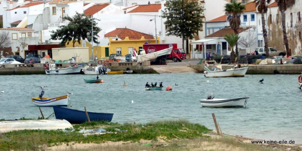 Überwintern im Süden: Ferragudo (Algarve)