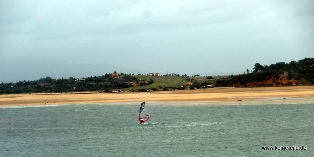 Lagune von Algor (Algarve)