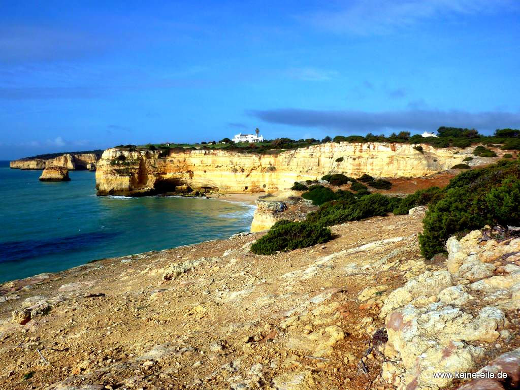 Wandern Praia Marinha
