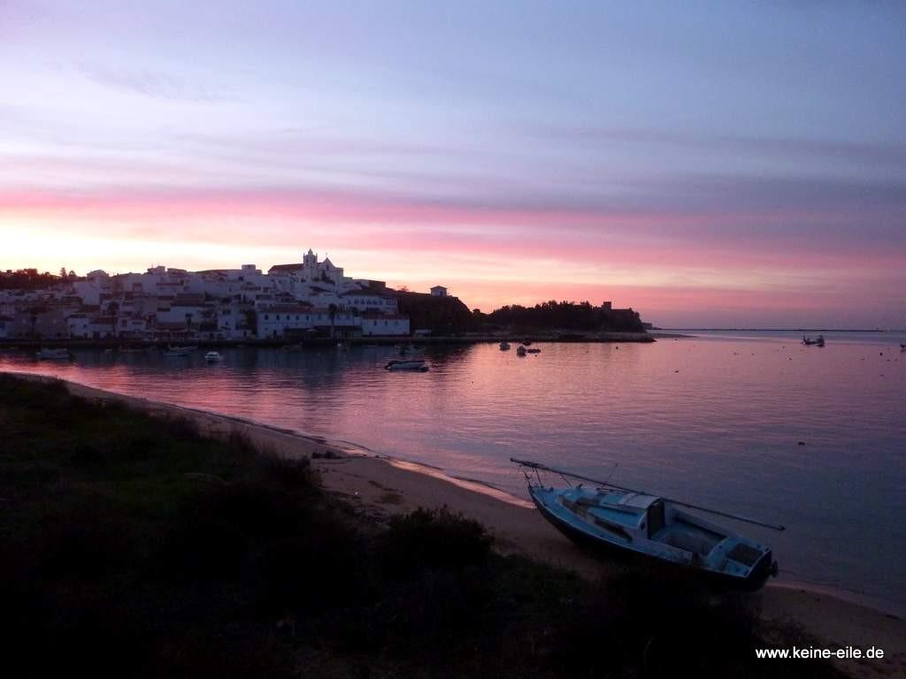 Sonnenaufgang in Ferragudo