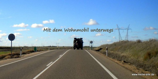 Mit dem Wohnmobil unterwegs: Übernachtungsplätze an der Strecke finden