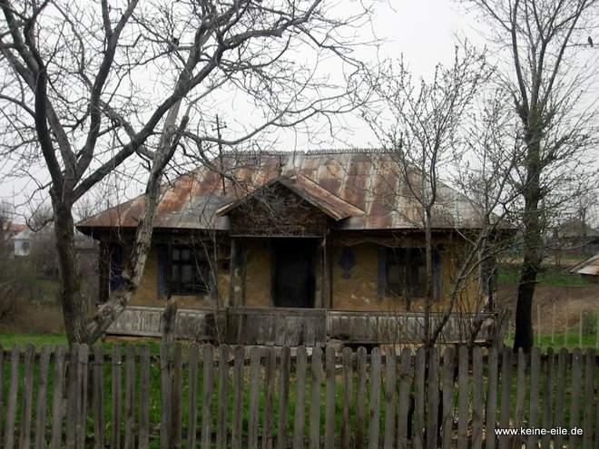 Radreise Rumänien: Haus
