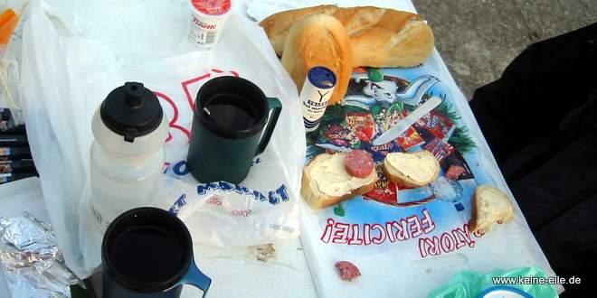 Radreise Rumänien: Frühstück