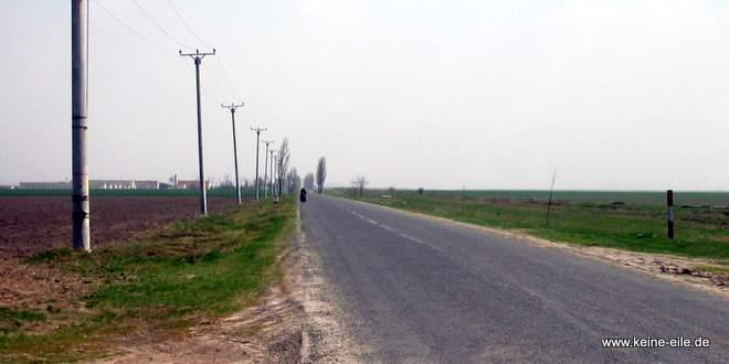 Straße in Rumänien