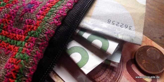 Reiseplanung Finanzen