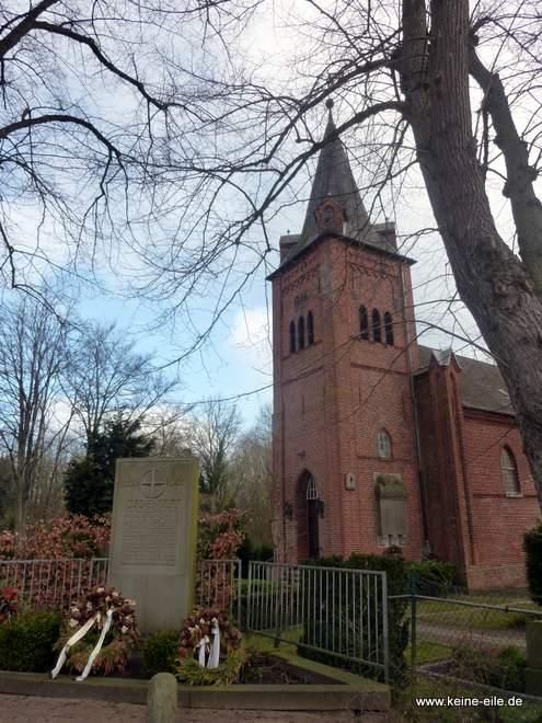 Moorlosen Kirche in Bremen