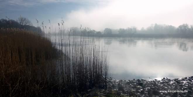 Lesum im Nebel