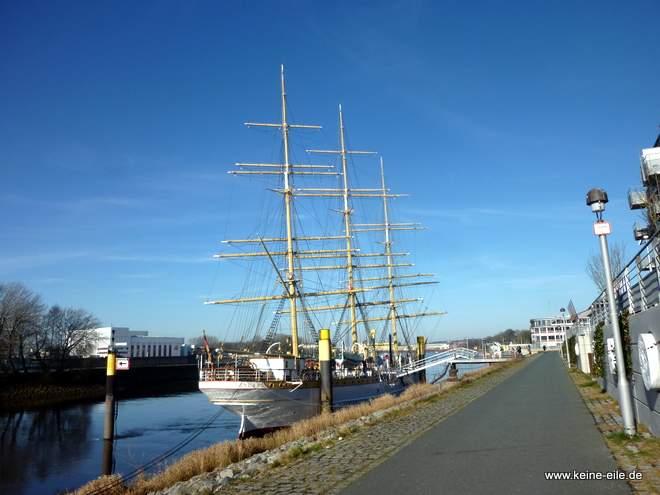 Schulschiff Deutschland in Bremen Vegesack