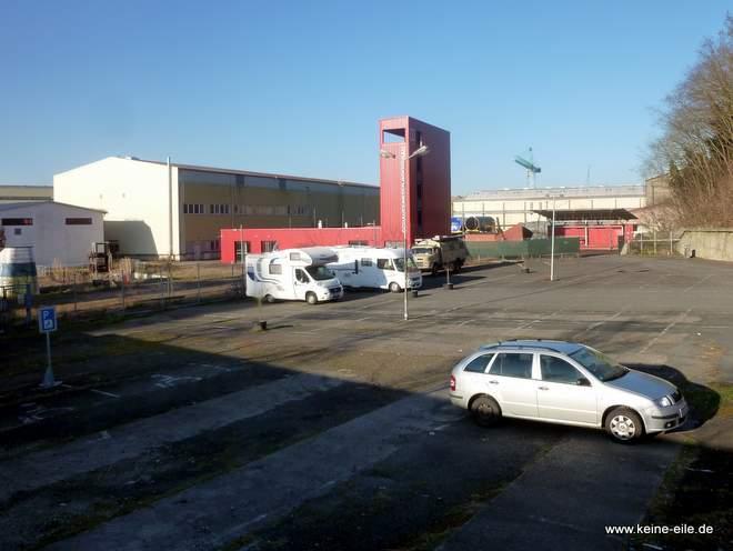 Wohnmobilstellplatz Maritime Meile Bremen Vegesack