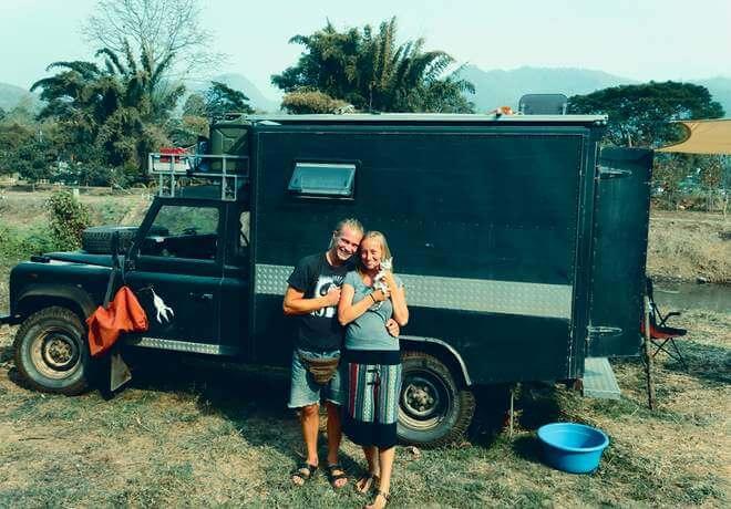 Digitale Nomaden im Landrover auf Weltreise