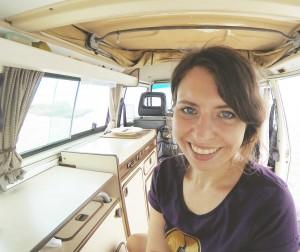 Reisen und Arbeiten mit VW Bus