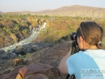 Motorradtour Afrika: Epupa Falls
