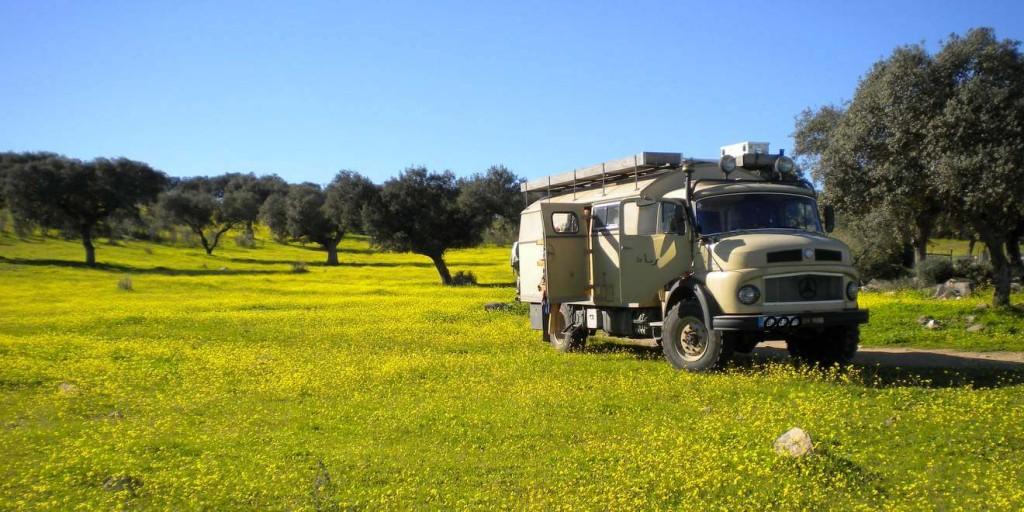 Mit dem Wohnmobil nach Portugal Stausee
