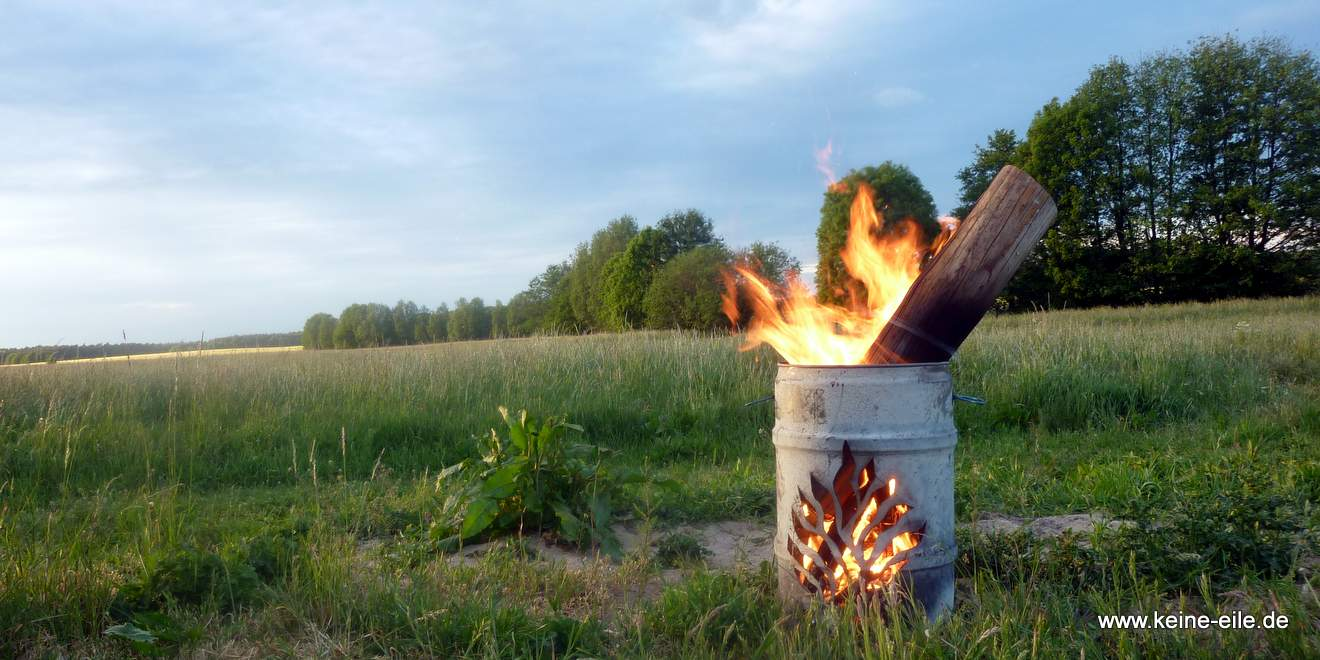 DIY Feuertonne