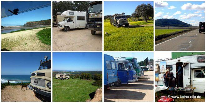 Reisebericht: Wir fahren mit dem Wohnmobil durch Portugal. Von See zu See - von Strand zu Strand.