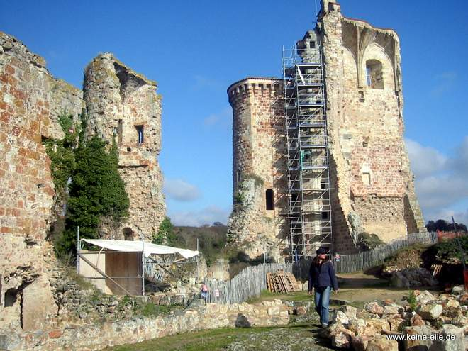 Roadtrip Frankreich: Chateau Feodal de Herisson