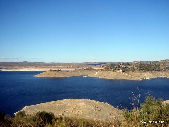 Roadtrip Spanien: Embalse Alcantara