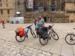 Mit dem Fahrrad auf dem Jakobsweg pilgern: In Santiago