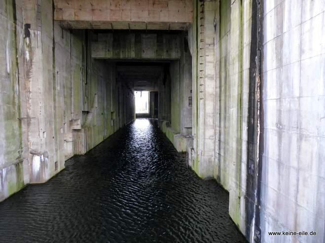 Der Bunker kann auch besichtigt werden - allerdings nicht samstags.
