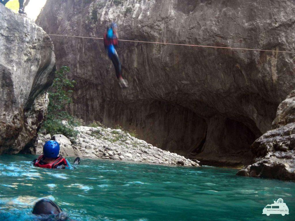 Verdonschlucht: Floating im Verdon