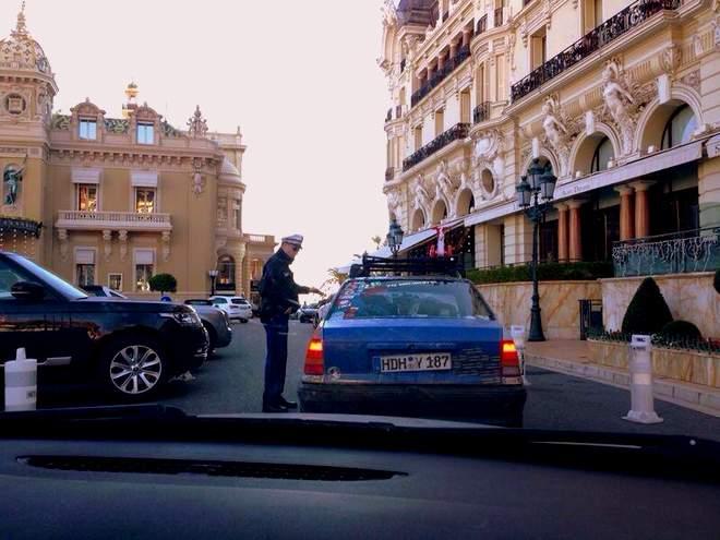 Der Opel Kadett in Monte Carlo