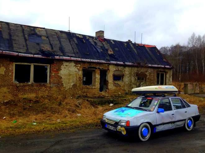 Der Opel Kadett in Tschechien