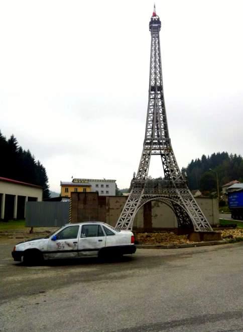Der Opel Kadett in der Slowakai